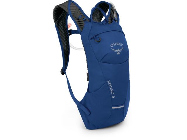 Osprey Katari 3 Sac à dos d'hydratation, cobalt blue